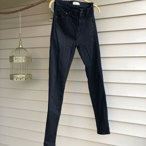 """Madewell 10"""" High Rise Skinny Jeans Size 26"""